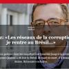 PROTÓGENES QUEIROZ: Redes de corrupção me matam se eu voltar ao Brasil…